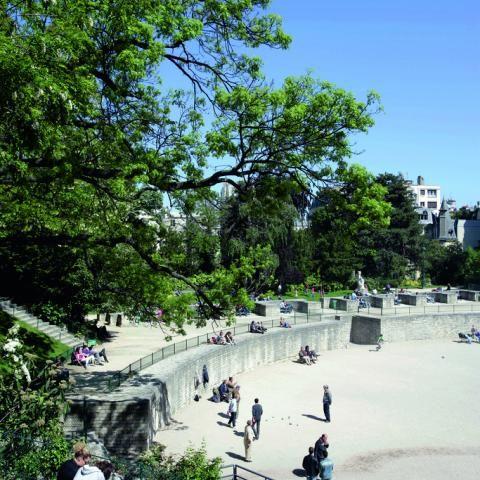 The Paris of Antiquity; the Arènes de Lutèce and the Thermes de Cluny