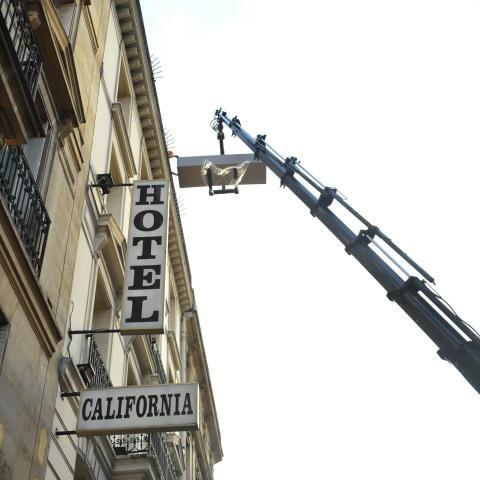 Hotel Les Bulles de Paris, near Sorbonne, is separated of its old elevator