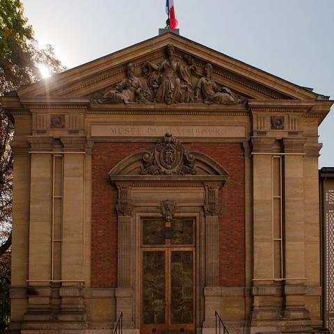 A great Parisian museum; the Musée du Luxembourg