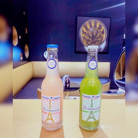 Notre partenariat au Bar avec les boissons de la Limonaderie de Paris